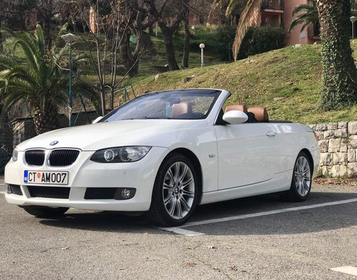 BMW 320, Petrol car hire in Montenegro