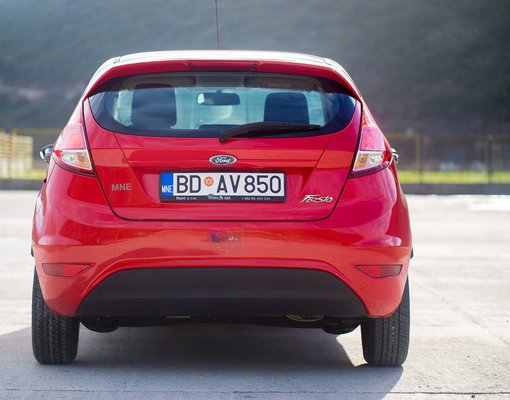 Ford Fiesta, Manual for rent in  Budva