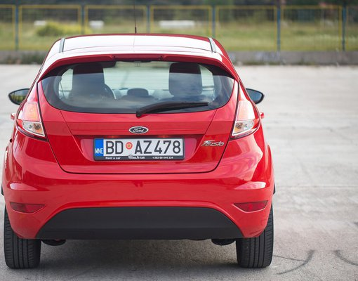 Ford Fiesta, Automatic for rent in  Budva