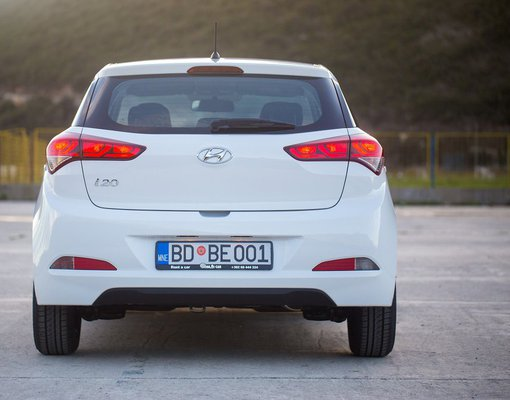 Hyundai i20, Petrol car hire in Montenegro