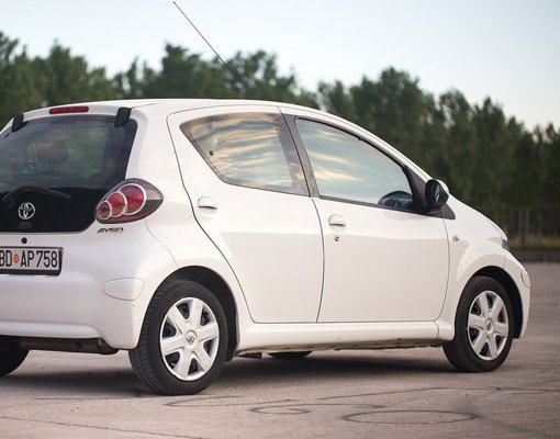 Toyota Aygo, Petrol car hire in Montenegro