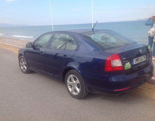 Rent a Skoda Octavia Automatic in Heraklion Greece