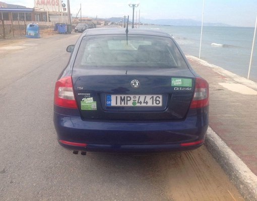 Skoda Octavia Automatic, Automatic for rent in Crete, Heraklion