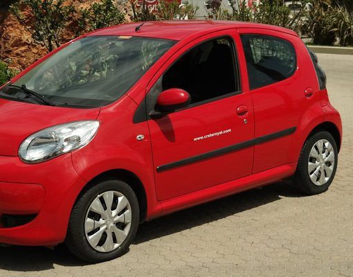 Rent a toyota aygo in Hersonissos Greece