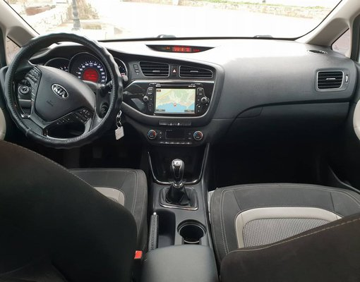 Kia Cee'd, Manual for rent in Crete, Gouves