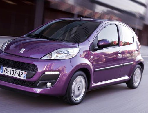 Rent a Peugeot 107 in Gouves Greece