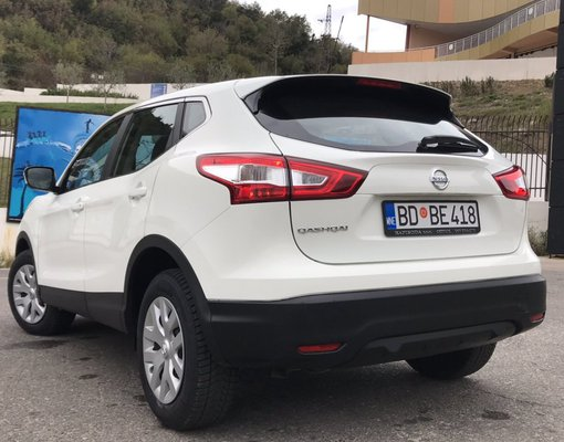 Cheap Nissan Qashqai, 1.6 litres for rent in  Montenegro