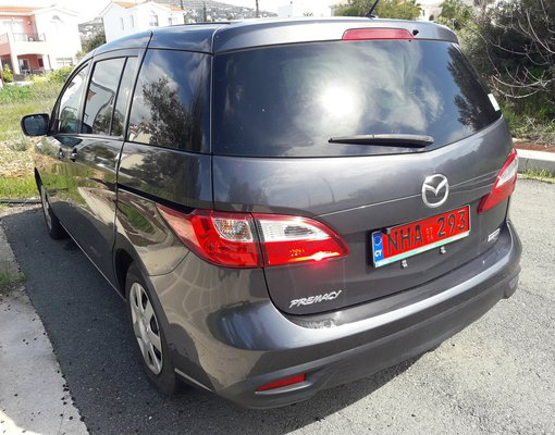 Rent a Mazda Premacy in Paphos Cyprus