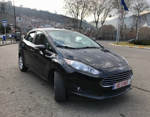 Rent a Ford Fiesta in Tbilisi Georgia