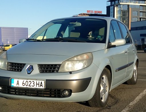 Rent a Renault Scenic in Burgas Bulgaria
