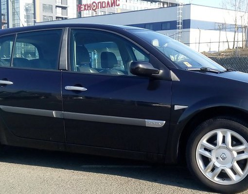Rent a Renault Megan in Burgas Bulgaria