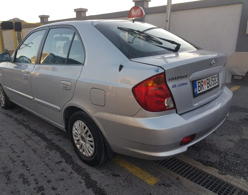 Hyundai Accent, 2006 rental car in Montenegro