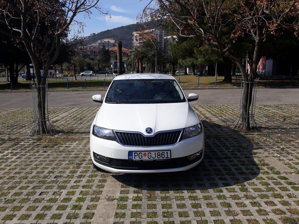 Skoda Rapid, 2019, Automatic, Petrol, car 1267 in Budva, Montenegro