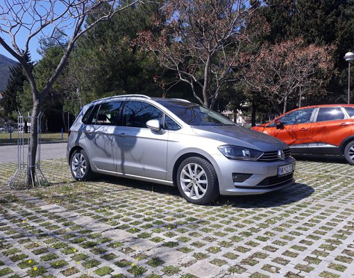 Rent a Volkswagen Golf 7+ in Budva Montenegro