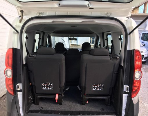Cheap Fiat Doblo, 1.4 litres for rent in Crete, Greece