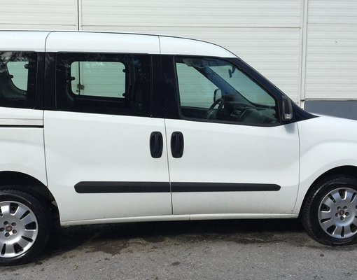 Fiat Doblo, Manual for rent in Crete, Heraklion