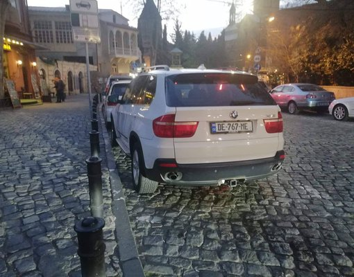 Rent a BMW X5 in Tbilisi Georgia