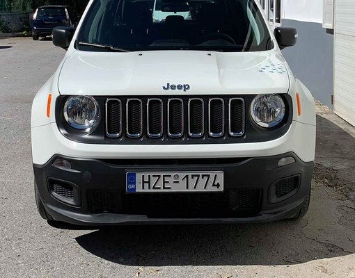 Rent a Jeep Renegade in Heraklion Greece
