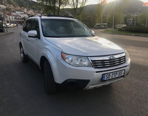 Rent a Subaru Forester in Tbilisi Georgia