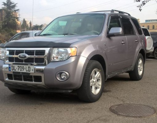 Rent a Ford Escape Hybrid in Tbilisi Georgia