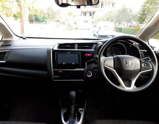 Cheap Honda Fit, 1.4 litres for rent in  Cyprus