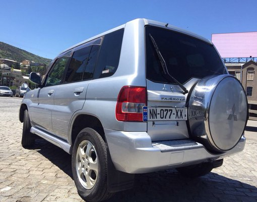 Mitsubishi Pajero IO, Petrol car hire in Georgia