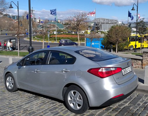 Kia Cerato, Manual for rent in  Tbilisi