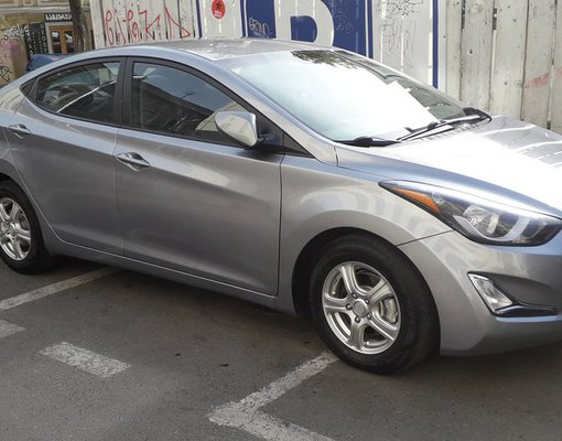 Rent a Hyundai Elantra in Tbilisi Georgia