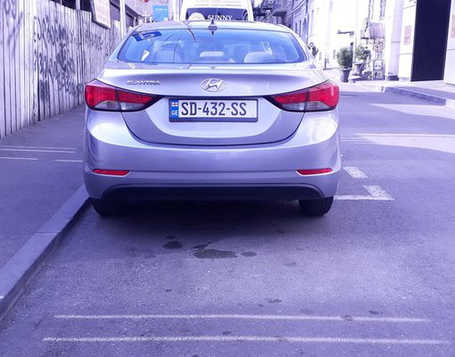 Hyundai Elantra, Automatic for rent in  Tbilisi