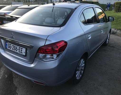 Rent a Mitsubishi Attrage in Tbilisi Georgia