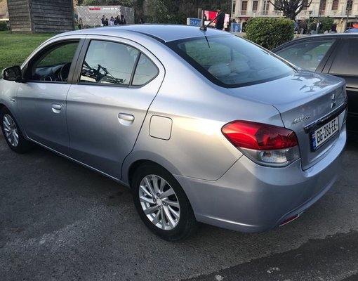 Cheap Mitsubishi Attrage, 1.2 litres for rent in  Georgia