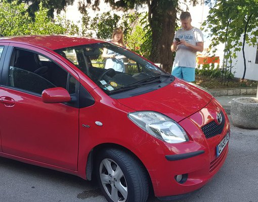 Rent a Toyota Yaris in Bar Montenegro