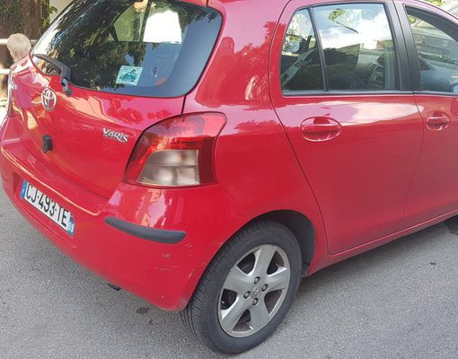 Toyota Yaris, Diesel car hire in Montenegro