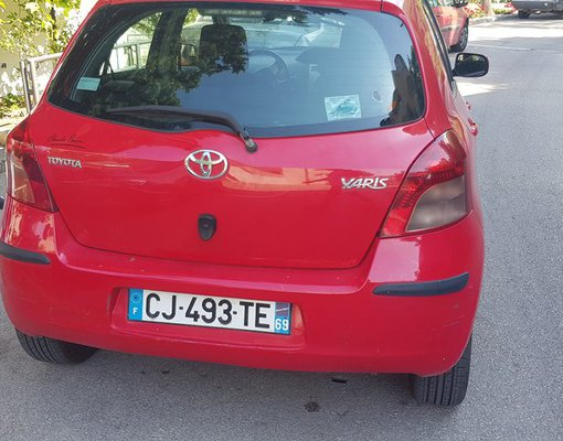 Cheap Toyota Yaris, 1.4 litres for rent in  Montenegro