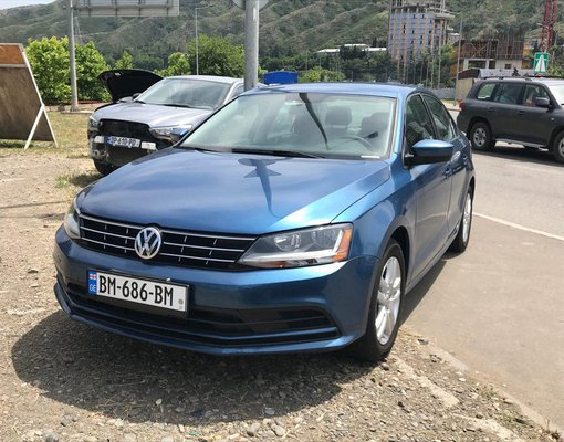 Volkswagon Jetta, Automatic for rent in  Tbilisi