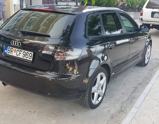 Cheap Audi A3, 2.0 litres for rent in  Montenegro
