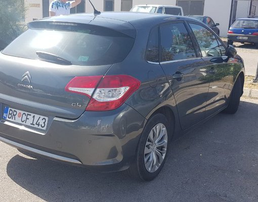 Citroen C4, Diesel car hire in Montenegro