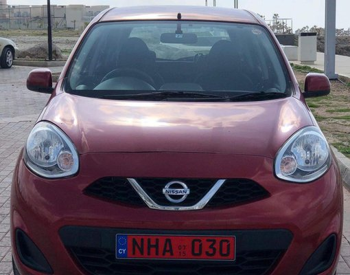 Nissan Micra, Automatic for rent in  Limassol