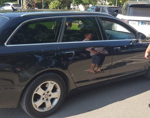 Hire a Audi A6 Avant car at Bar airport in  Montenegro