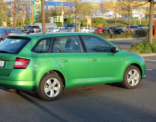 Rent a Skoda Fabia in Prague Czechia