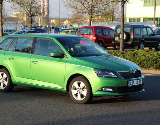 Skoda Fabia, Automatic for rent in  Prague