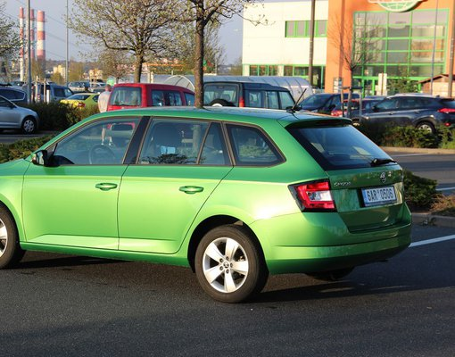 Skoda Fabia, Petrol car hire in Czechia