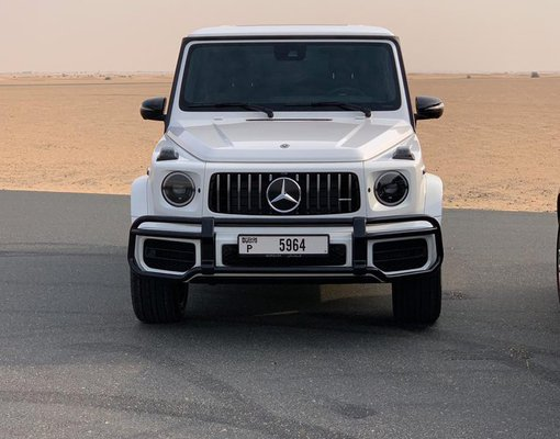 Rent a Mercedes-Benz G63 AMG in Dubai UAE