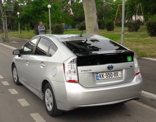 Rent a Toyota Prius in Tbilisi Georgia