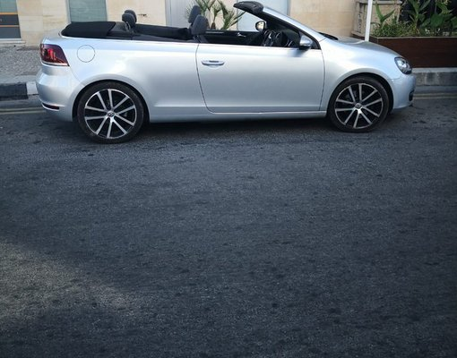 Volkswagen Golf Cabrio, Manual for rent in  Limassol