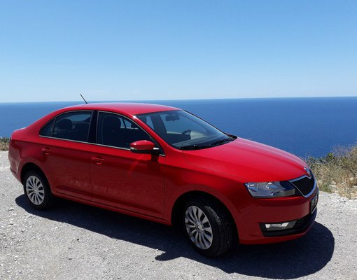 Skoda Rapid, Petrol car hire in Montenegro