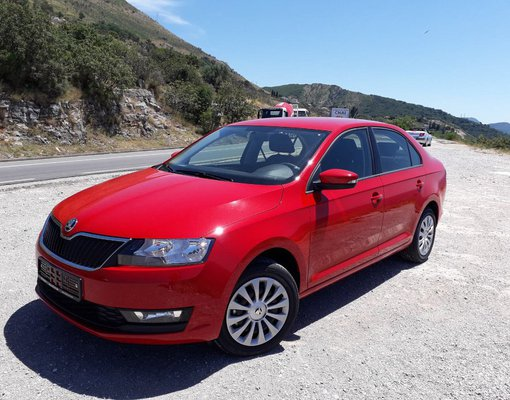 Rent a Skoda Rapid in Budva Montenegro