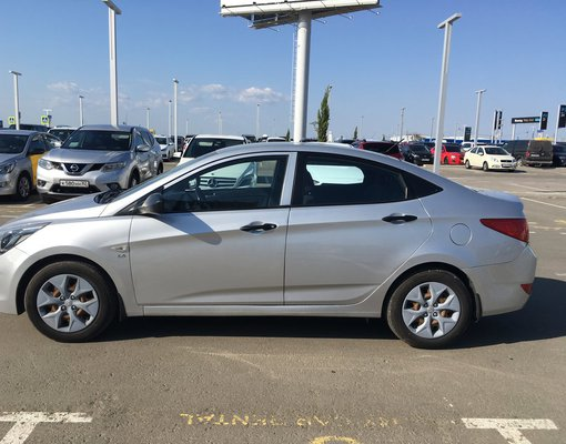 Rent a Hyundai Solaris in Simferopol Airport (SIP) Crimea
