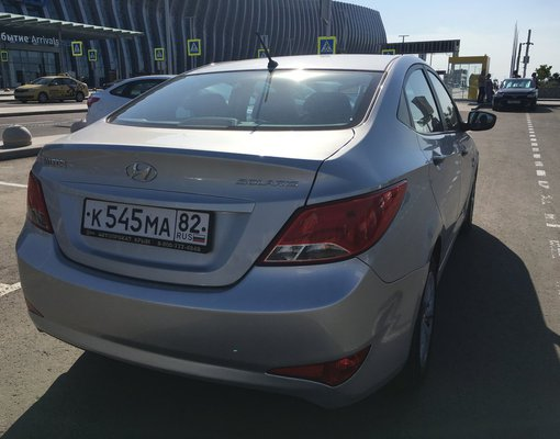 Hyundai Solaris, Automatic for rent in  Simferopol Airport (SIP)