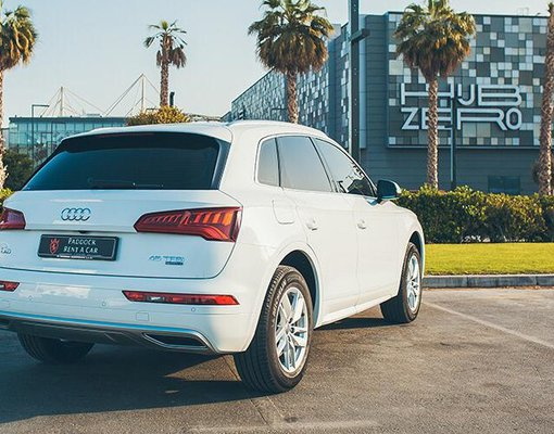Audi Q5 TFSI, Automatic for rent in  Dubai